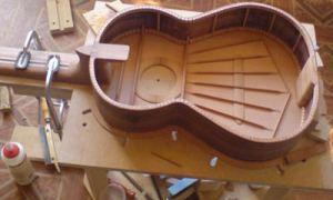 Конструкция классической гитары