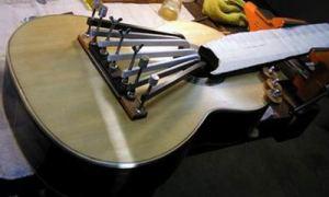 Подставка гитары - приклейка