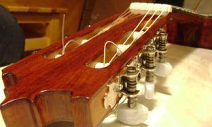 Переделываем капитально гриф советской гитары