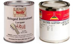 Лак для гитары - покрытие гитары нитроцелюлозным (НЦ) лаком