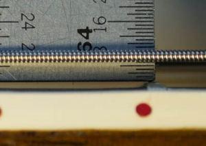 Настройка высоты струн при изготовлении