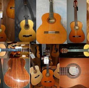 Три вида классической гитары по материалу изготовления