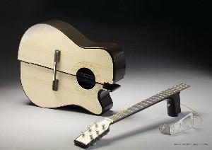 Раскладная гитара для утренних поездок в понедельник