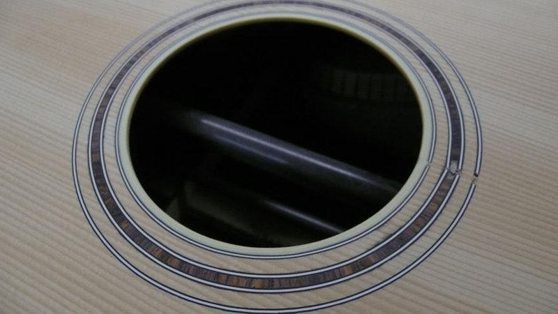 Розетка гитарная наклейка
