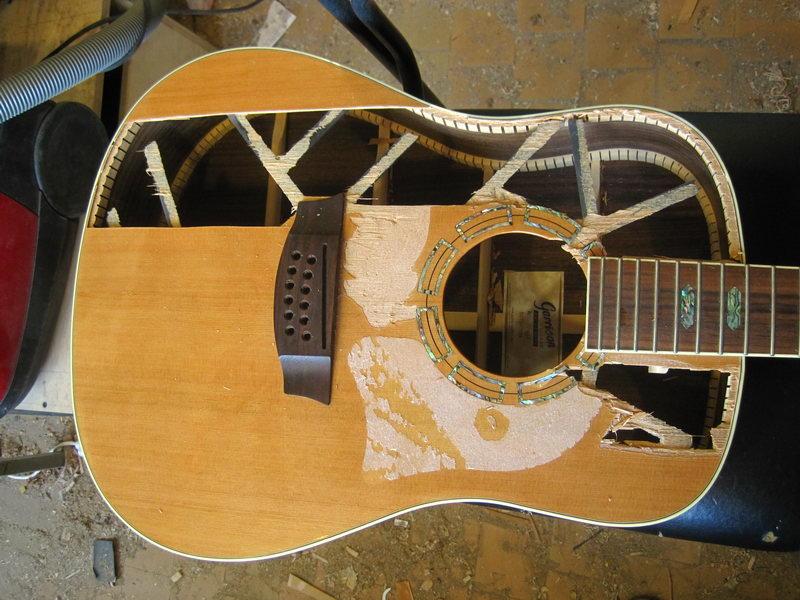 Акустическая система для гитары и своими руками